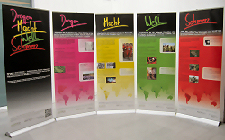 """Info-Ausstellung """"Drogen Macht Welt Schmerz"""""""